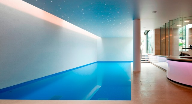 Basement pool in london modern pool other metro by for Basement swimming pool ideas