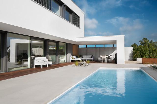 Bauhaus look pools for Pool bauhaus
