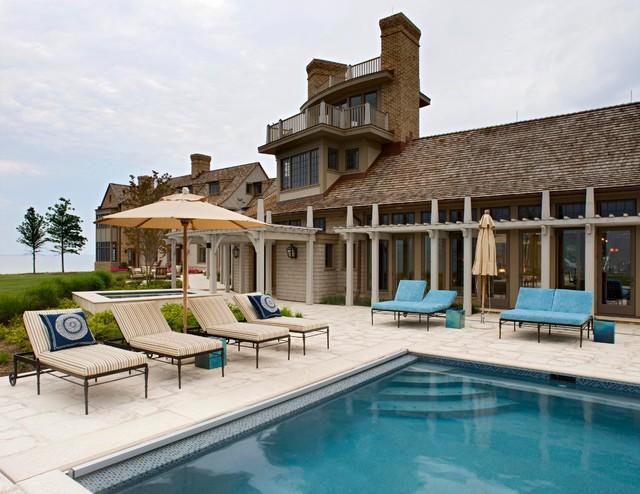 Bayhouse traditional-pool