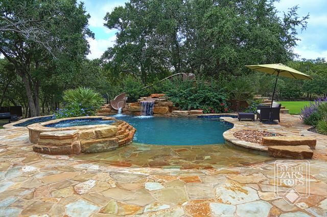 Beach Entry Pools - Beach Style - Pool - Austin - by Keith ...