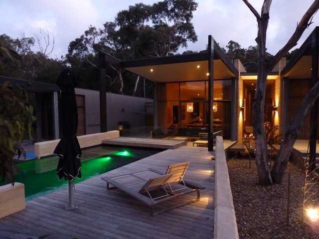 Beach house melbourne australia beach style pool for Beach house designs melbourne