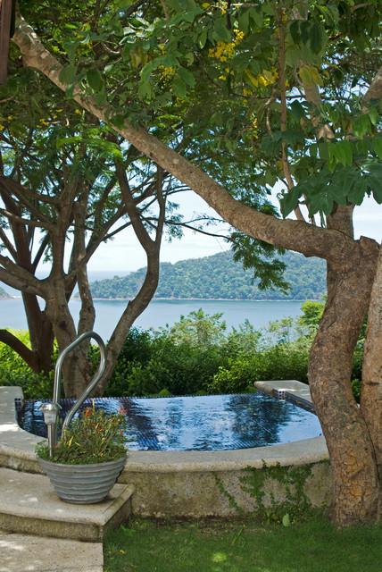 Beach House, Nacar. Faro Escondido,Costa Rica tropical-pool