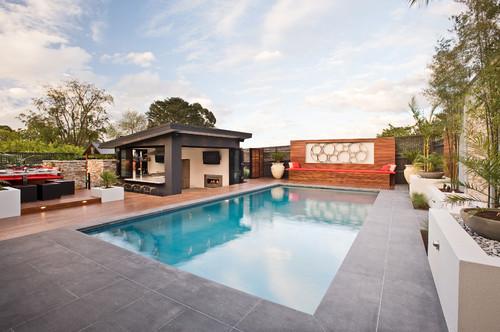 Contemporary Pool & Patio Design Ideas