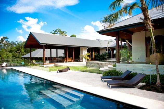 Bellbird - Noosa Hinterland tropical-pool