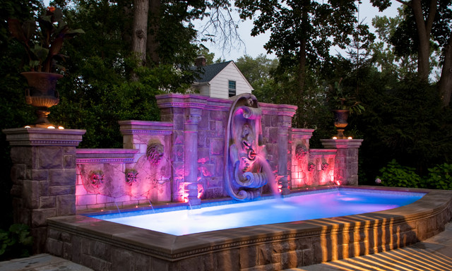 Bergen County, NJ Inground Swimming Pool Design U0026 Installation Traditional  Pool