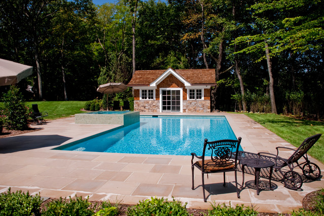 Bergen county nj inground swimming pool design for Latest pool designs