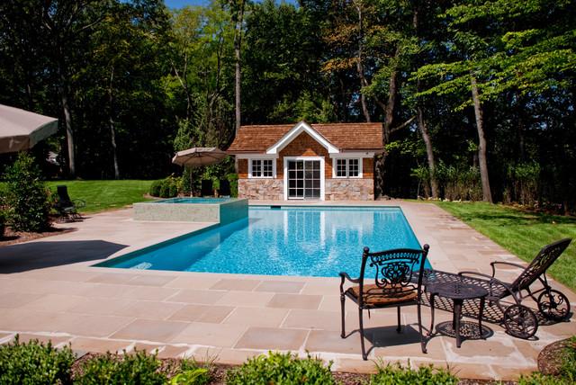 Bergen county nj inground swimming pool design for New pool installation