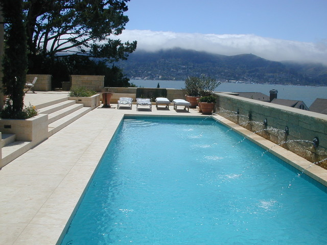 Berry contemporary-pool