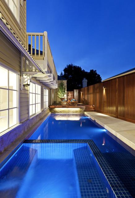 Berwick Pool and Spa contemporary-pool