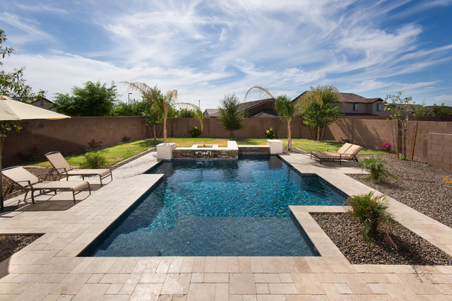Best contemporary-pool - Best - Contemporary - Pool - Phoenix - By California Pools & Landscape
