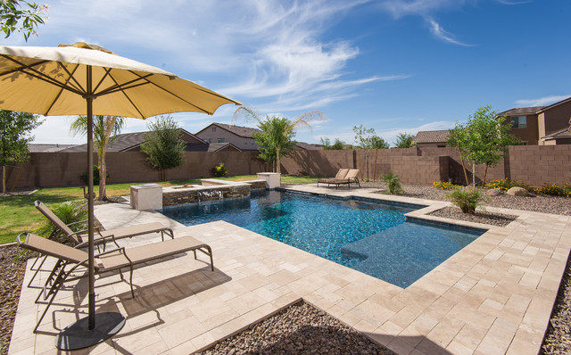 Best - Contemporary - Pool - Phoenix - by California Pools u0026 Landscape