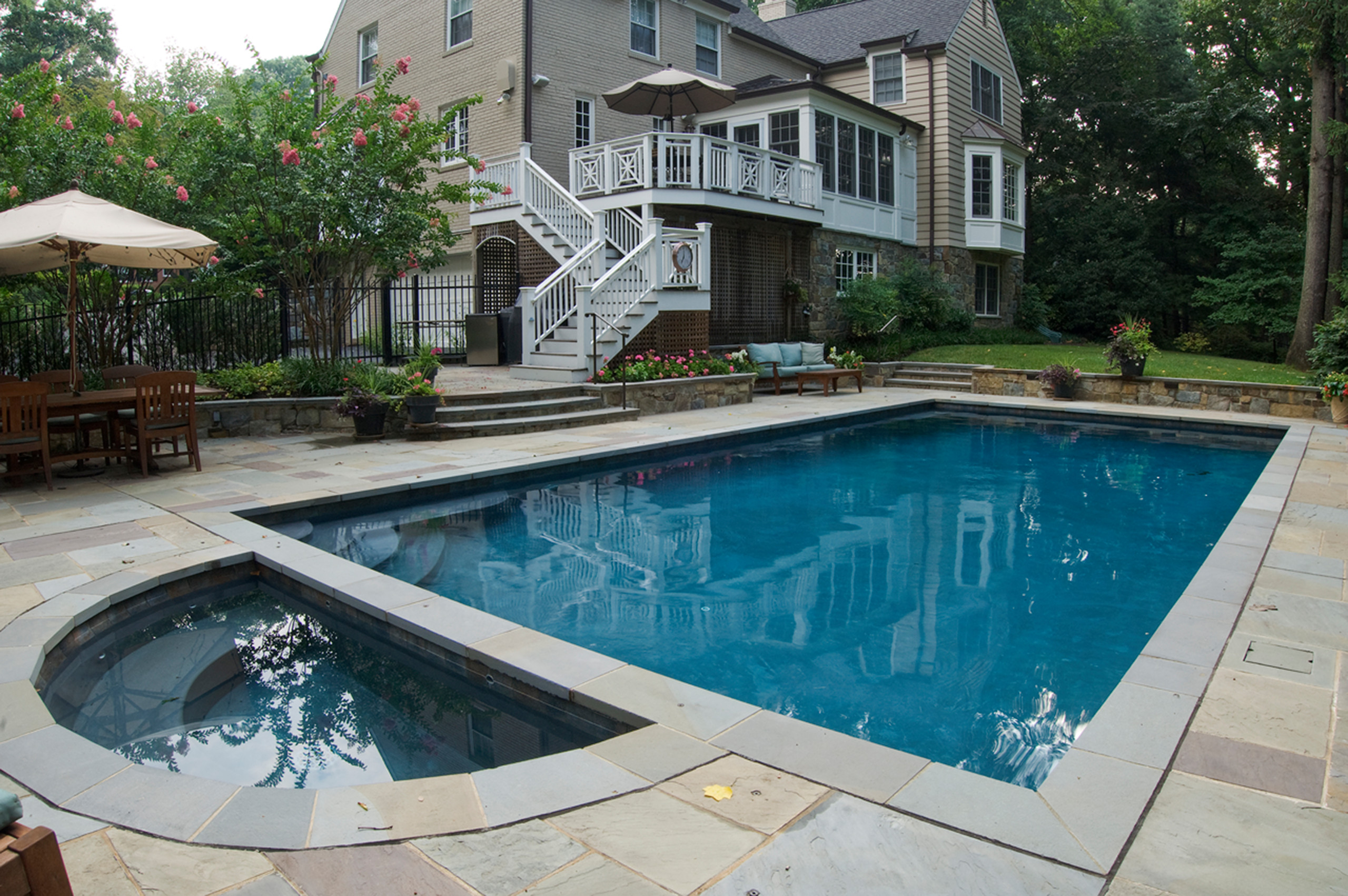 Bethesda, MD family home with room for entertaining