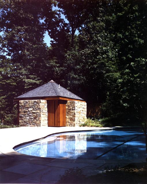 bethesda pool house - traditional - pool - dc metro