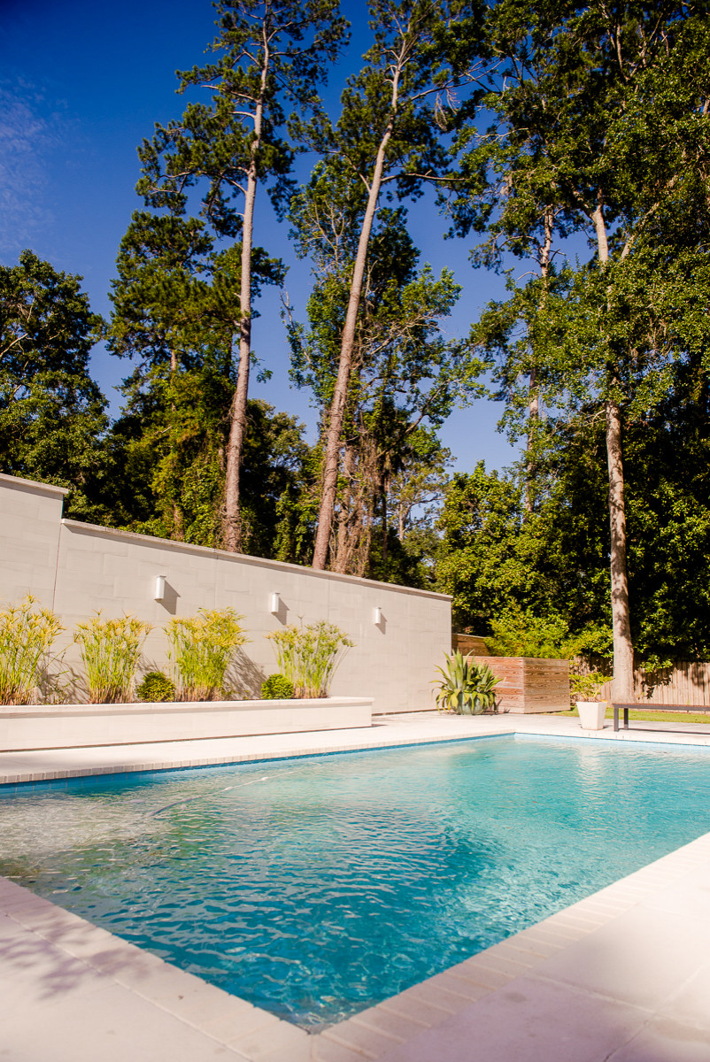 Betton Hills Pool and Privacy Wall