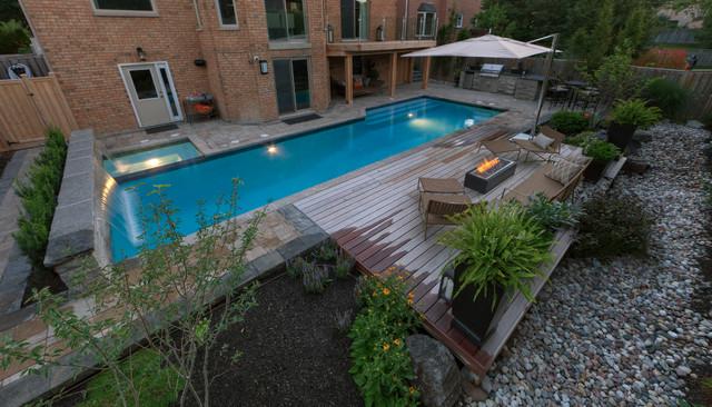 Custom Betz Pools Lap Pool contemporary-pool