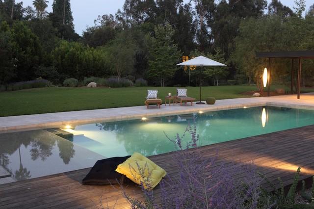 Beverly Hills Splash - Mediterranean - Pool - Los Angeles - By FormLA Landscaping