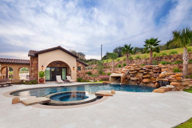 Big View Home mediterranean-pool