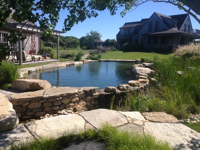 Bionova Natural Swimming Pool Nantucket Ma Pool Other Metro By Bionova Natural Pools