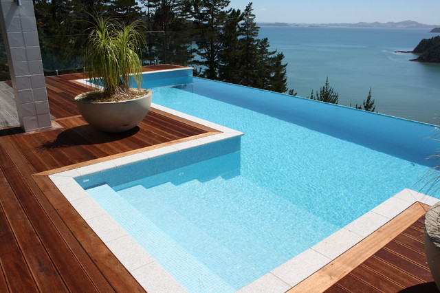 Bisazza collection contemporary pool auckland by for Pool design nz