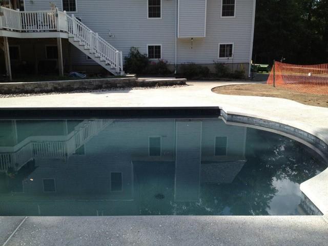 Black Liner Pool Merrimac Massachusetts