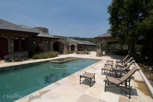 Black Ridge Vineyards traditional-pool
