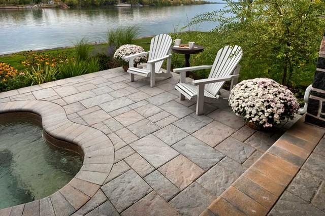 Blu60 slab quebec canada rustic pool philadelphia for Outdoor furniture quebec
