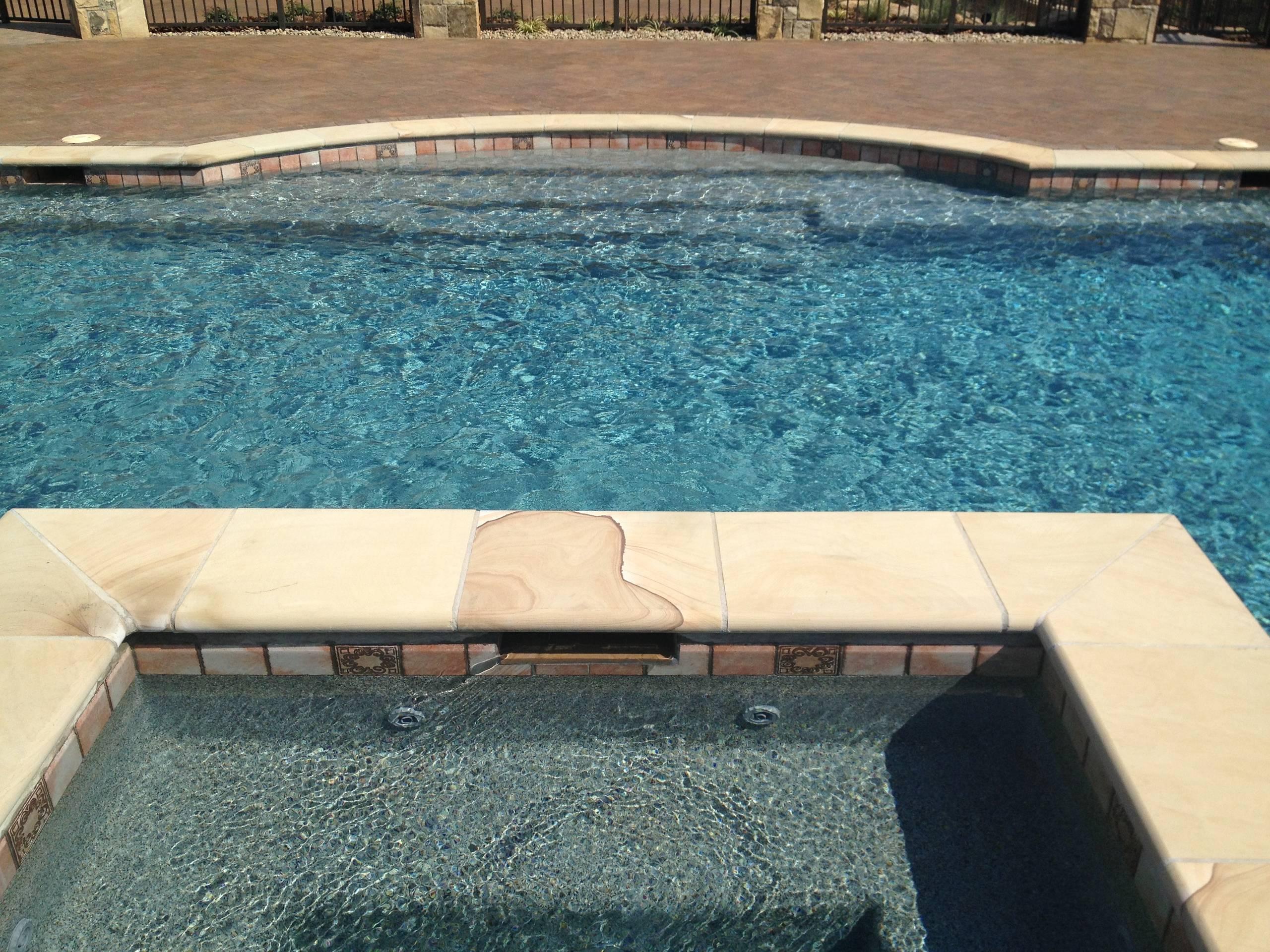 Blue Granite Pebble Sheen Pool