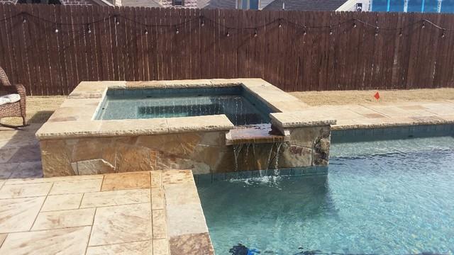 BMR Pool And Patio Swimming Pools Rustic Pool