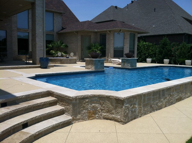 Lovely BMR Pool And Patio Swimming Pools Contemporary Pool