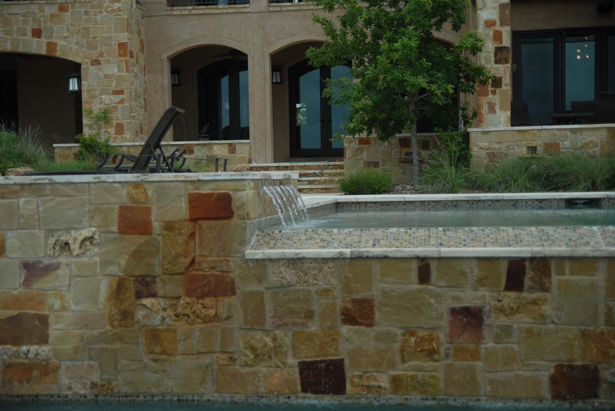 Boerne Multi Level Lap Pool/Landscape