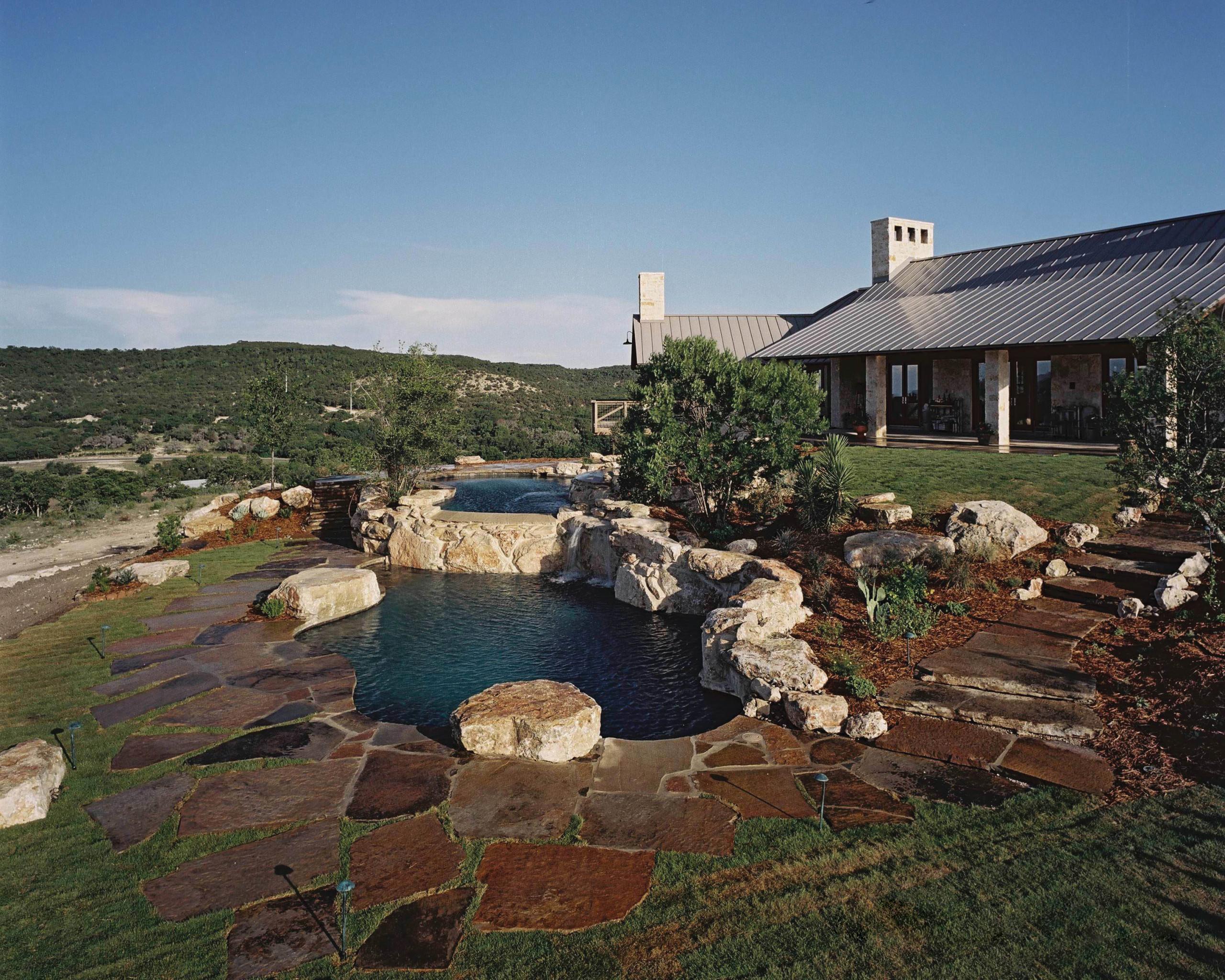 Boerne Multi-Level Pool/Spa/Landscape
