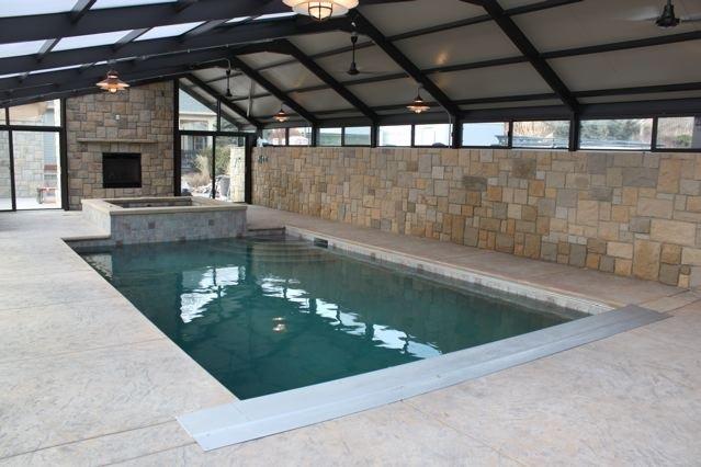 Boise idaho pool enclosure for Pool design boise
