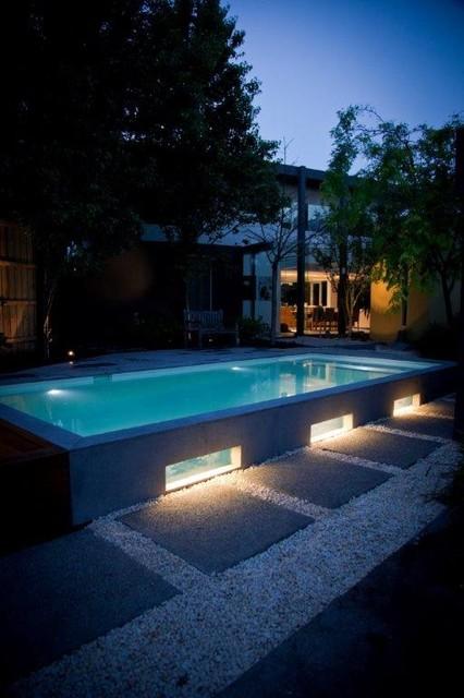 Bombay bluestone modern-pool