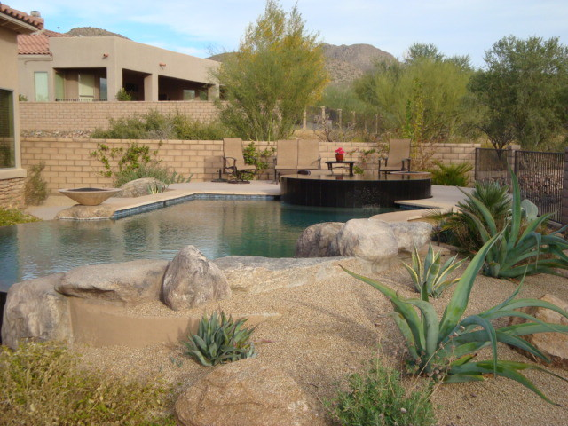 Boxhill design pools southwestern pool phoenix by for Pool design hours