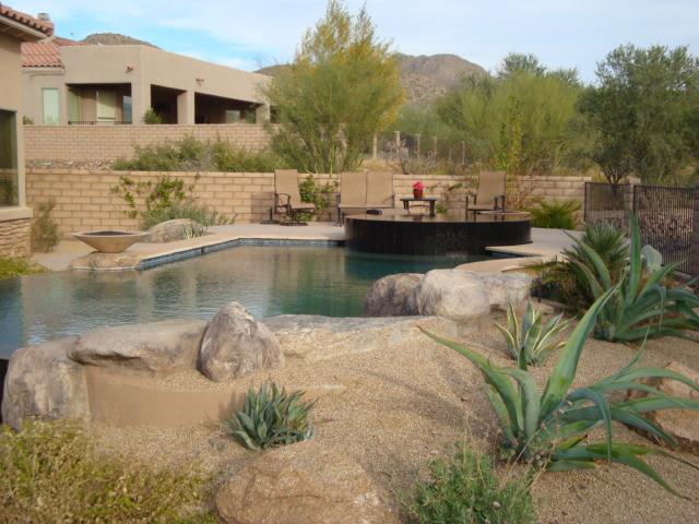 Boxhill design pools southwestern pool phoenix by for Pool design phoenix