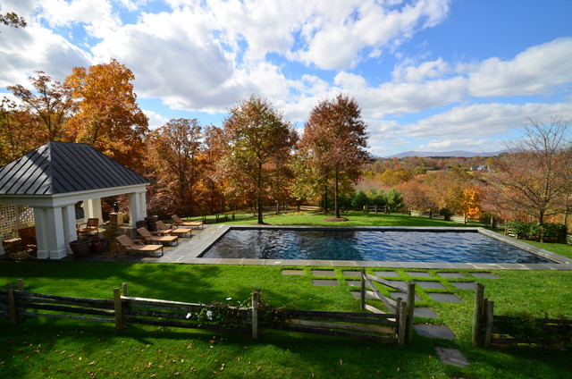 Braemont Lane Retreat traditional-pool