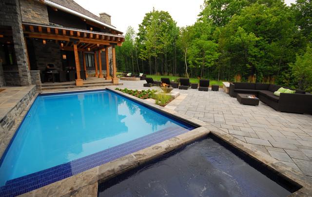 Bragging Wright's contemporary-pool