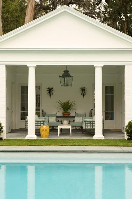 Brentwood Regency Estate traditional-pool