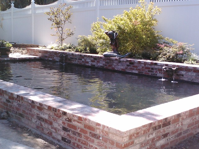 Brick Beauty - Traditional - Pool - sacramento - by Poseidon Pools