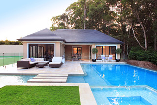 75 Beautiful Pool With A Pool House Pictures Ideas March 2021 Houzz Au