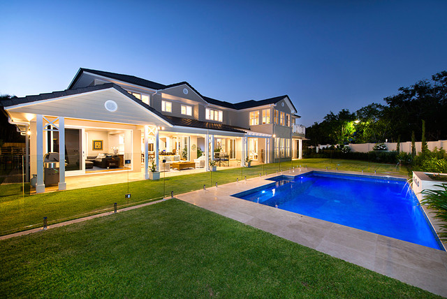 This is an example of a traditional pool in Brisbane.