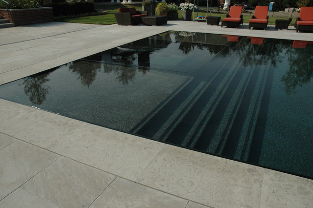 Brookdale contemporary-pool