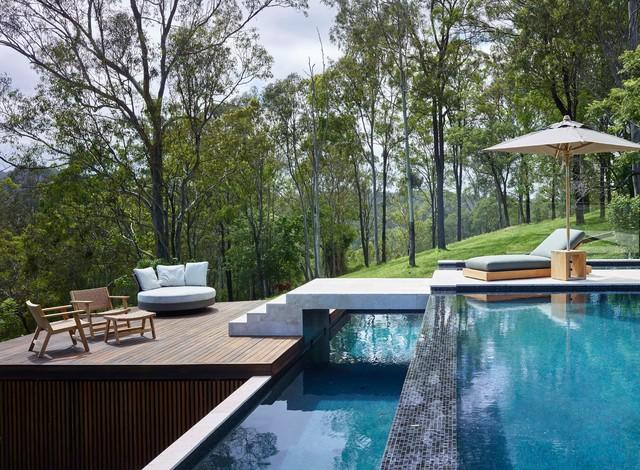Brookfield House Modern Pool Brisbane By Shaun