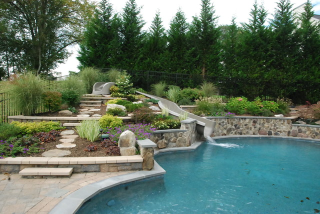 Brookville maryland project eclectic pool dc metro for Pool design maryland
