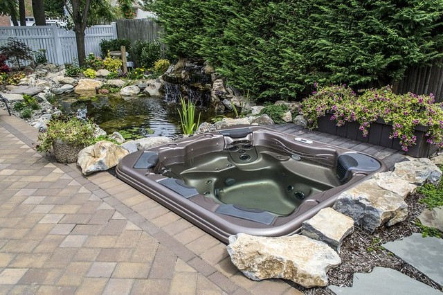 Budget friendly backyard retreat traditional pool - Backyard pool ideas on a budget ...