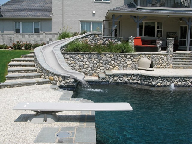 Build your own slide sydney by aqua action slides pty ltd for Create your own pool