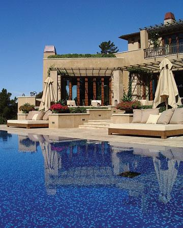 Buttrick Wong Architects mediterranean-pool