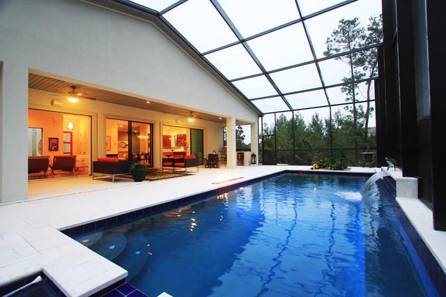 Cali florida in palencia moderno piscina for Piscinas palencia