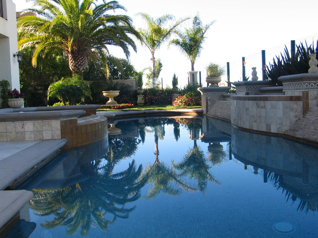 California contemporary-pool