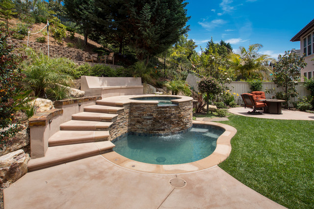 California Pools traditional-pool